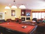 Carriage Ridge Resort game room