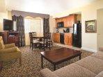 Avenue Plaza Resort living room