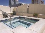 Wyndham Skyline Tower hot tub