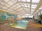 Wyndham Skyline Tower indoor pool