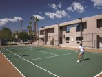 Vista Mirage Resort tennis courts
