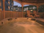 Wyndham Bentley Brook hot tub