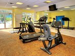 Wyndham Bentley Brook fitness area