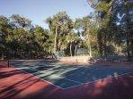 Wyndham Ocean Ridge Accommodations tennis court