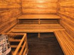 Wyndham Bentley Brook sauna