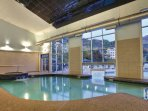 Wyndham Bentley Brook indoor pool