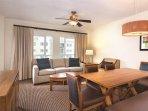 Wyndham Oceanside Pier Resort living room