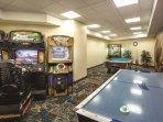 Wyndham Oceanside Pier Resort gameroom