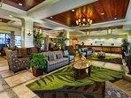 Wyndham Oceanside Pier Resort lobby