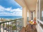 Wyndham Oceanside Pier Resort balcony