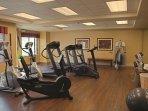 Vino Bello Resort fitness area