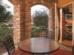 Vino Bello Resort patio