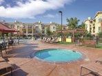 Vino Bello Resort outdoor hot tub