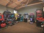 WorldMark Angels Camp game room