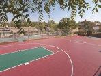 WorldMark Angels Camp basket ball court