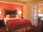 Peacock Suites bedroom