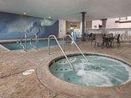 Peacock Suites hot tub