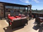 Peacock Suites terrace