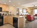 Wyndham Palm Aire Resort kitchen