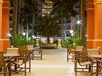 Wyndham Palm Aire Resort terrace
