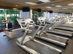 Wyndham Palm Aire Resort fitness area