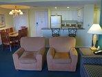 Wyndham Ocean Walk living room