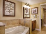 Wyndham Bonnet Creek Resort bathroom