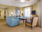 Wyndham Bonnet Creek Resort living room