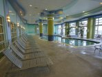 Wyndham Ocean Walk indoor pool