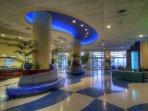 Wyndham Ocean Walk lobby