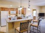 Wyndham Bonnet Creek Resort kitchen