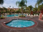Wyndham Bonnet Creek Resort outdoor hot tub