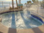 Wyndham Ocean Walk outdoor hot tub