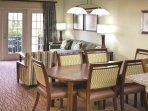 Star Island Resort living room