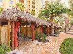 Wyndham Bonnet Creek Resort cabana