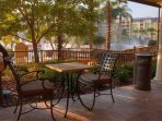Wyndham Bonnet Creek Resort terrace