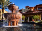 Wyndham Bonnet Creek Resort fountain