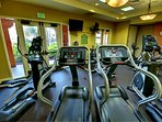 Wyndham Bonnet Creek Resort fitness area