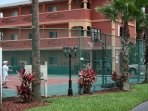 Florida Vacation Villas tennis courts
