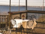 Wyndham Bay Voyage Inn deck
