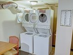 Wyndham Bay Voyage Inn laundry