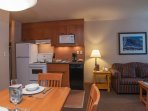 The chef of the group will adore the equipped kitchen with oven, stove, dishwasher, microwave, and fridge.