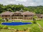 This luxury mountain villa set on 5 private acres with infinity pool
