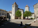 Lauzerte, a beautiful village close by.