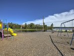 Little ones will love the community playground.