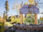 Crestview Sign