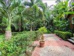 Landscape Walkways and garden Areas