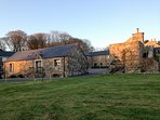 Evening at the Byre and The Barns.