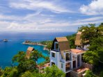 Villa Kantaraya, stunning private villa, sleeps 6, views out to Koh Samui, roof terrace