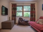 Second living room / playroom with Freeview TV  and sofa bed (double)